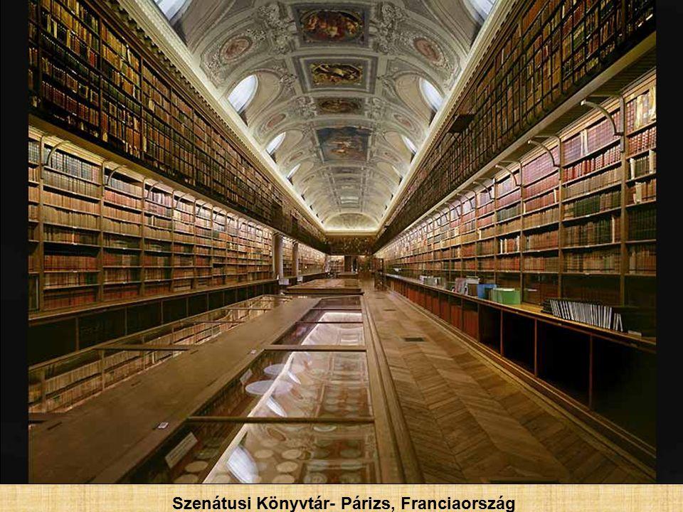 Francia Nemzeti Könyvtár, Ovális terem- Párizs