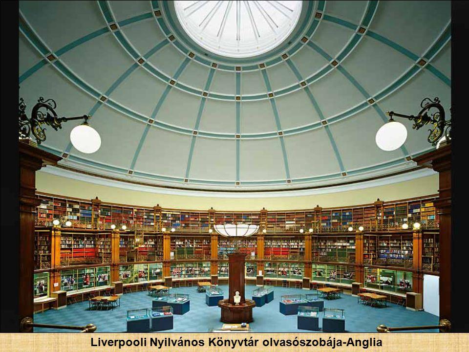 Szenátusi Könyvtár- Párizs, Franciaország