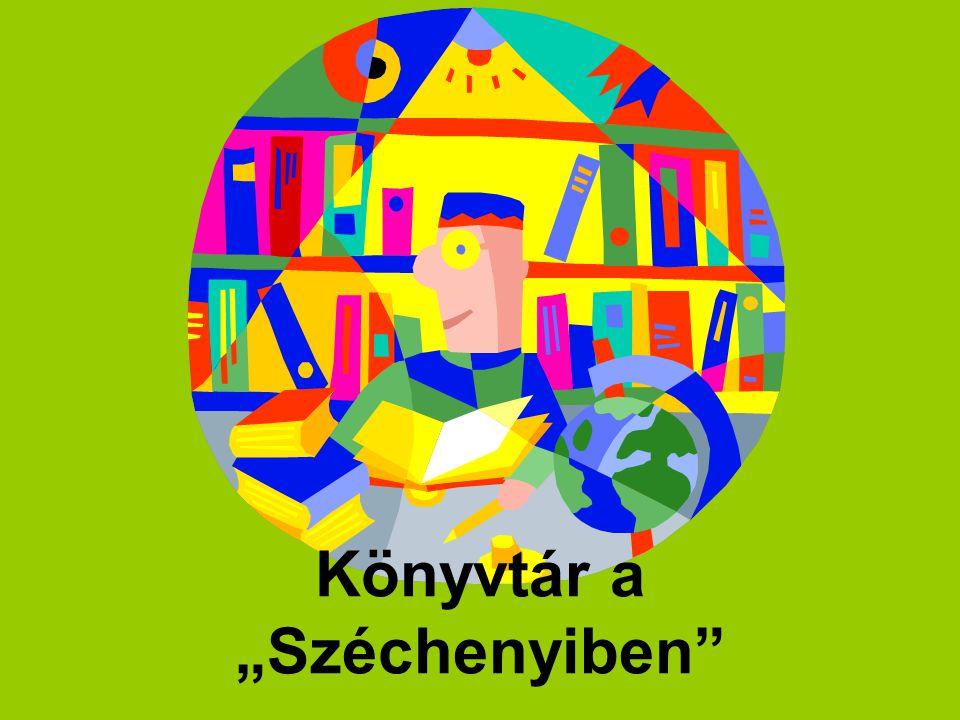"""Könyvtár a """"Széchenyiben"""""""