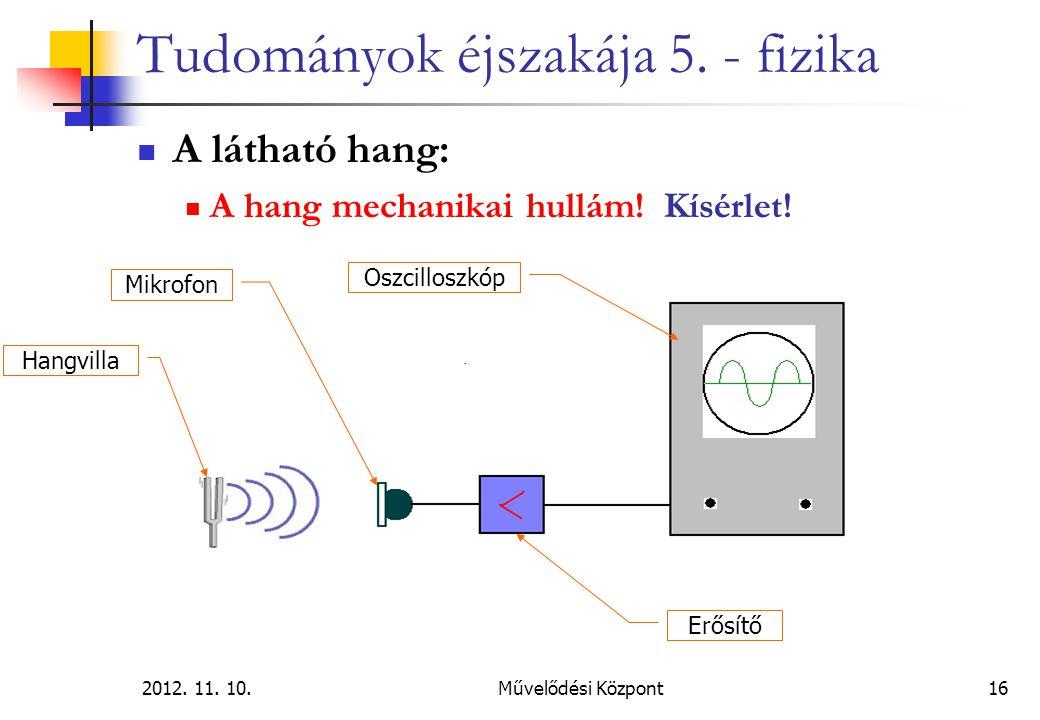 2012.11. 10.Művelődési Központ16 Tudományok éjszakája 5.