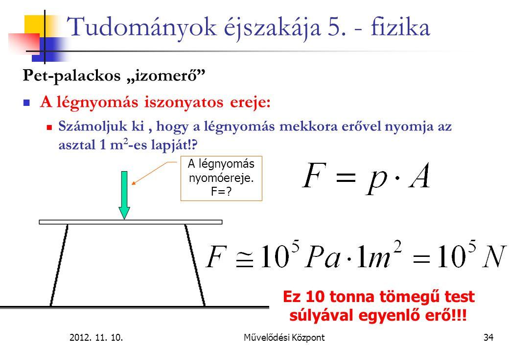 2012.11. 10.Művelődési Központ34 Tudományok éjszakája 5.