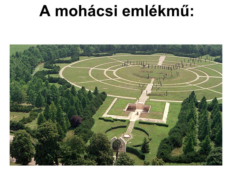 A mohácsi emlékmű: