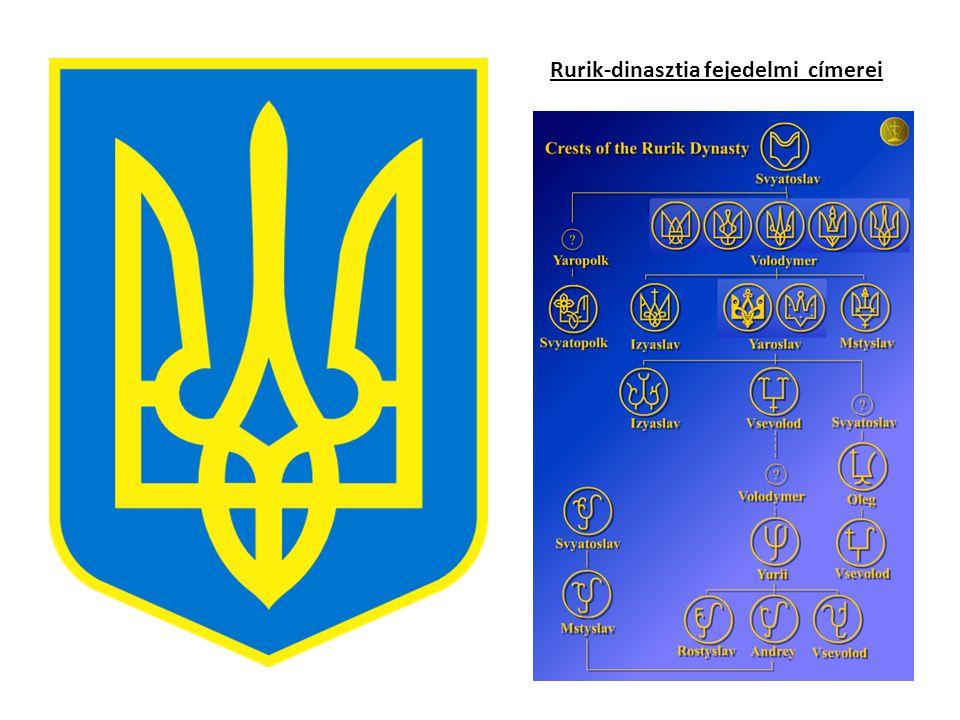 Rurik-dinasztia fejedelmi címerei