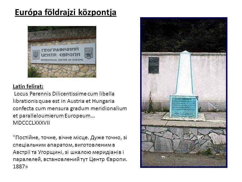 Európa földrajzi központjai: 1.Purnuškiai, Bernotai és Radëiuliai falvak mellett, a Girija-tó partján - Vilniustól 26 km északra, Litvánia; 2.
