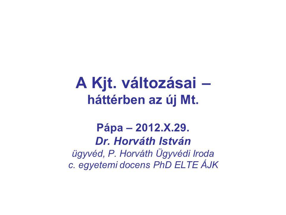 A Kjt.változásai – háttérben az új Mt. Pápa – 2012.X.29.