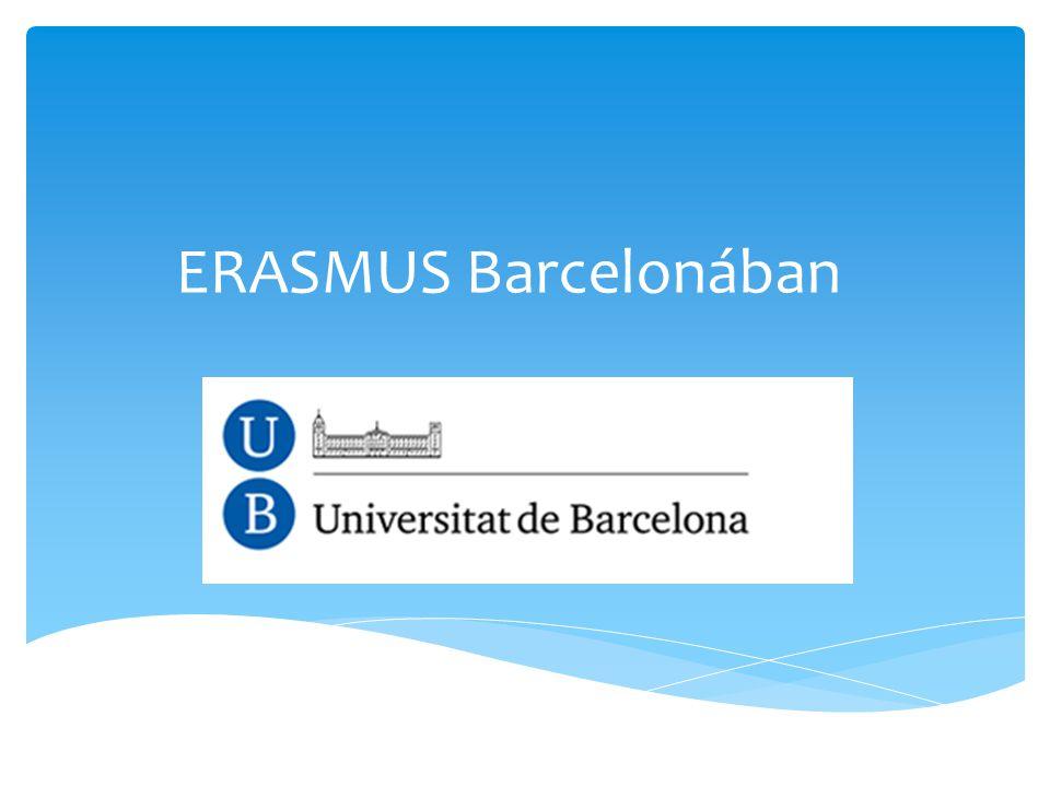 ERASMUS Barcelonában