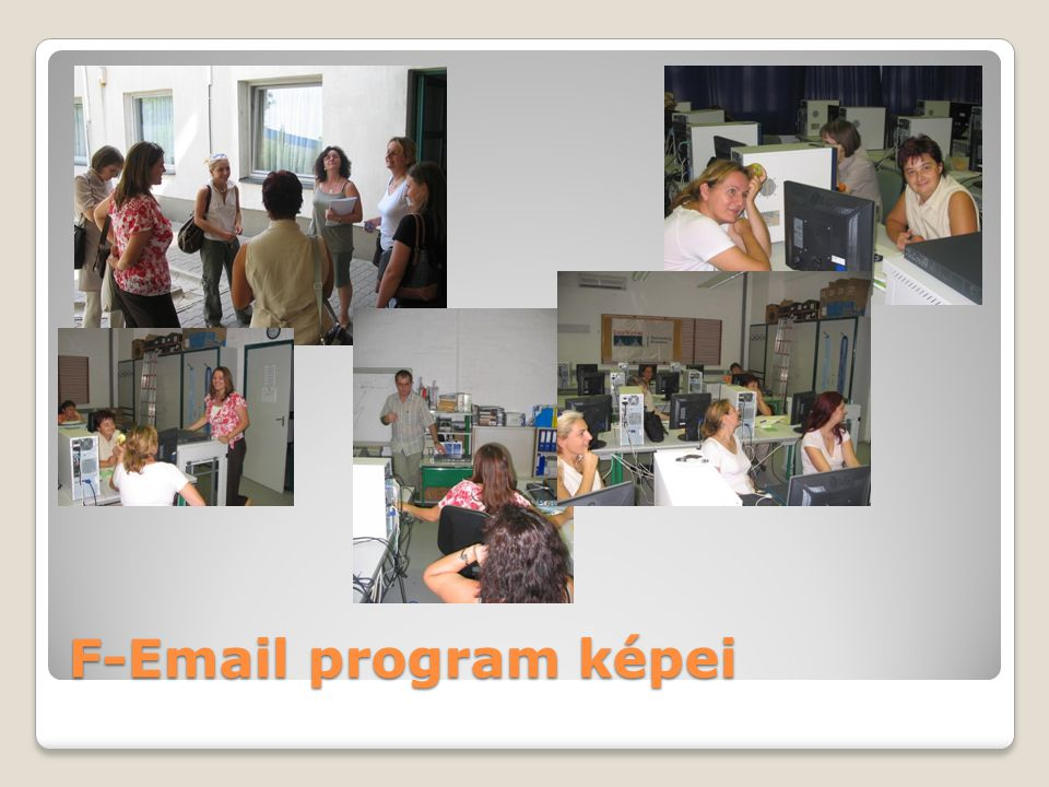 F-Email program képei