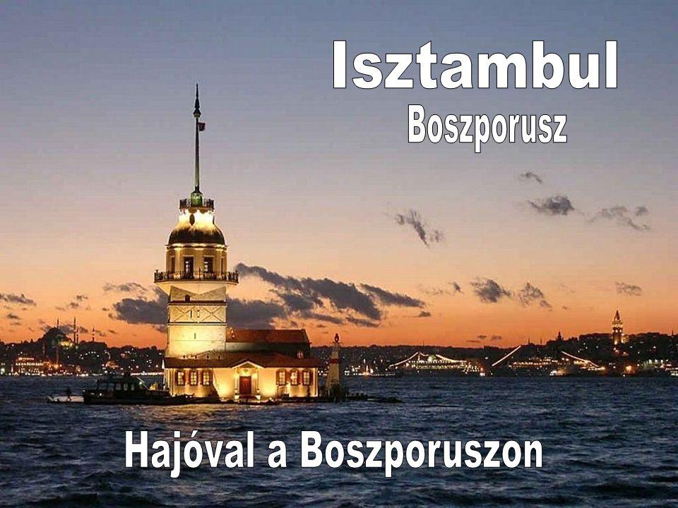 Ha Anadolu Kavağı erődjéből dél felé nézünk, Láthatjuk a Boszporusz szoros utolsó szakaszát.