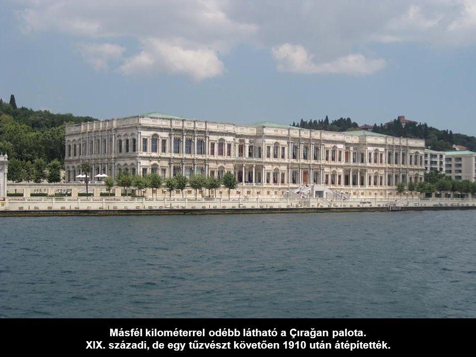 A XIX. században épített palota volt az első európai stílusú, neobarokk építmény, építési költsége: 35 tonna arany.
