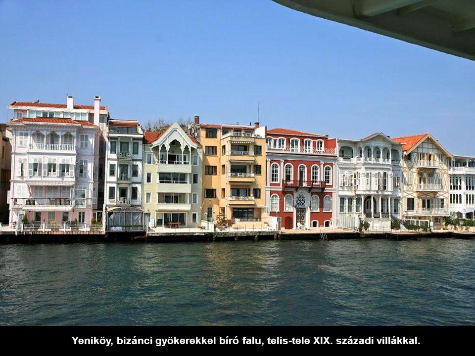 """Visszatérve az európai oldalra találjuk az Istinye-öblöt. Itt van az isztambuli börze és a híres kereskedelmi központ: """"Istinye Park""""."""