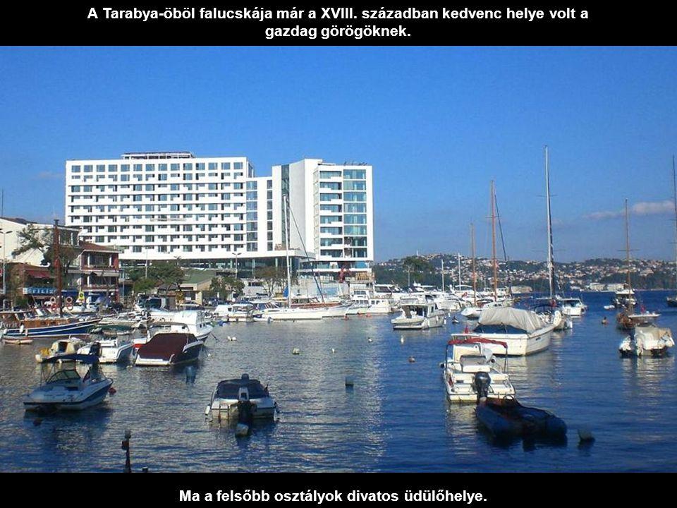 Az ázsiai részen Beykoz kis halászfalu volt, ma viszont itt is luxusvillák sorakoznak.