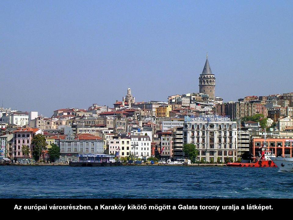 Nem sokkal odébb haladunk át a Boszporusz 2.