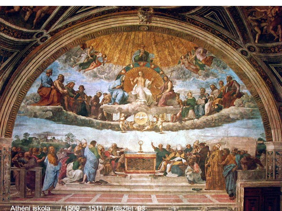 Athéni iskola / 1509 – 1511 / részlet 02