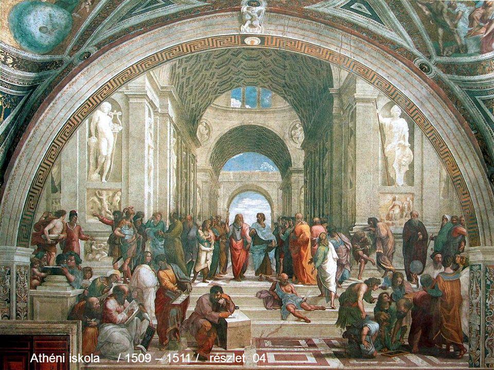 Athéni iskola / 1509 – 1511 / részlet 03