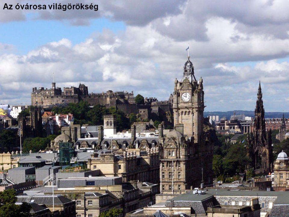 Edinburgh – A skót főváros, dominál a vár