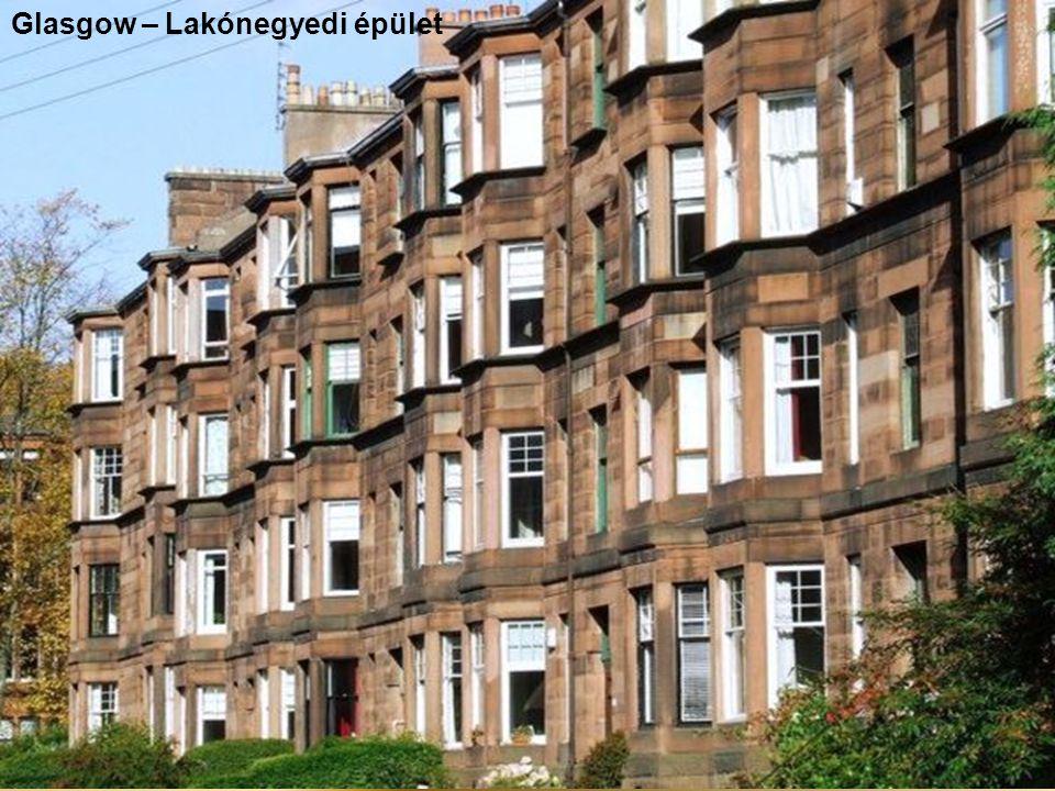 Glasgow – Utcakép