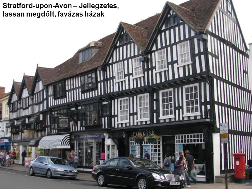 Stratford-upon-Avon – Shakespeare szülőháza