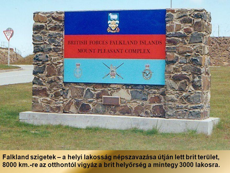 Falkland-szigetek – 2012-ben is megünneplik a győztes angol-argentin háború évfordulóját. A 30.-at.