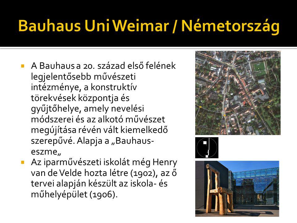  A Bauhaus a 20.