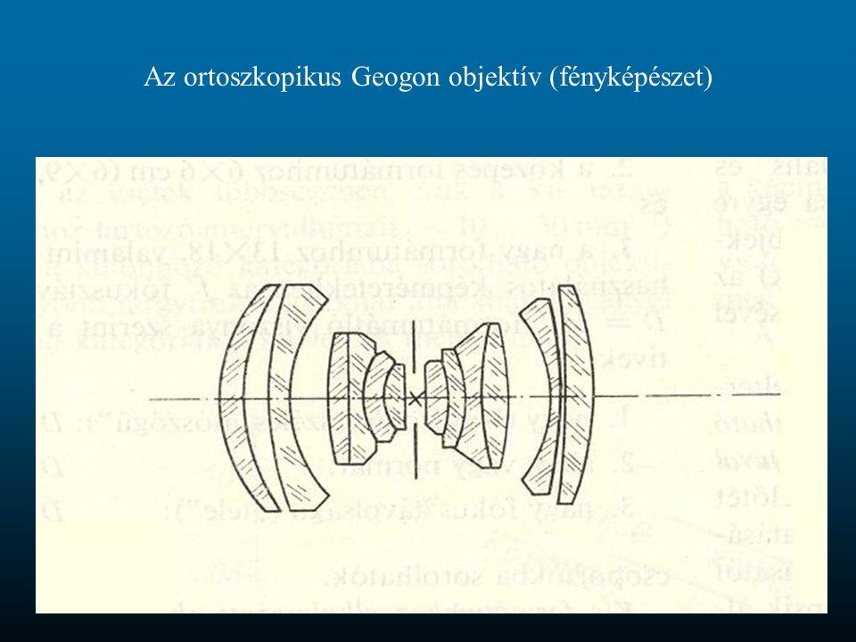 Az ortoszkopikus Geogon objektív (fényképészet)