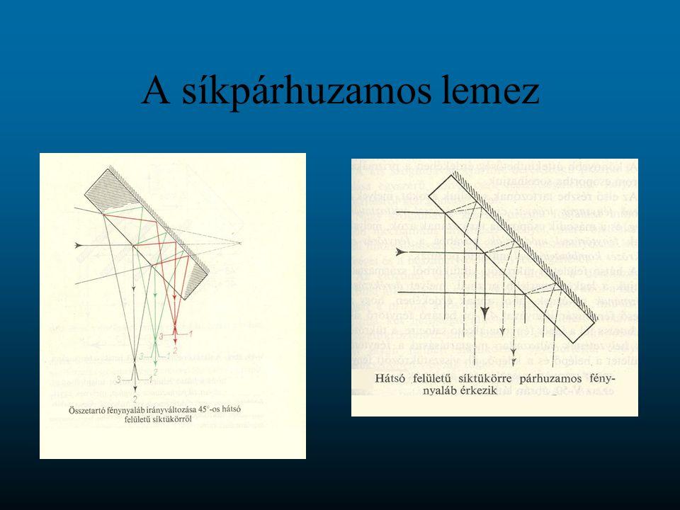A lupe optikai működési elve A lupe a közeli (fókusztávolságán belüli) tárgyról egyenes állású, virtuális, nagyított képet alkot.