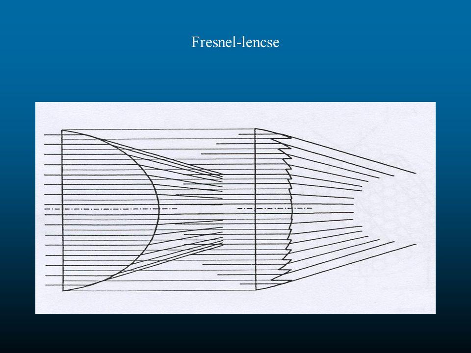 Fresnel-lencse