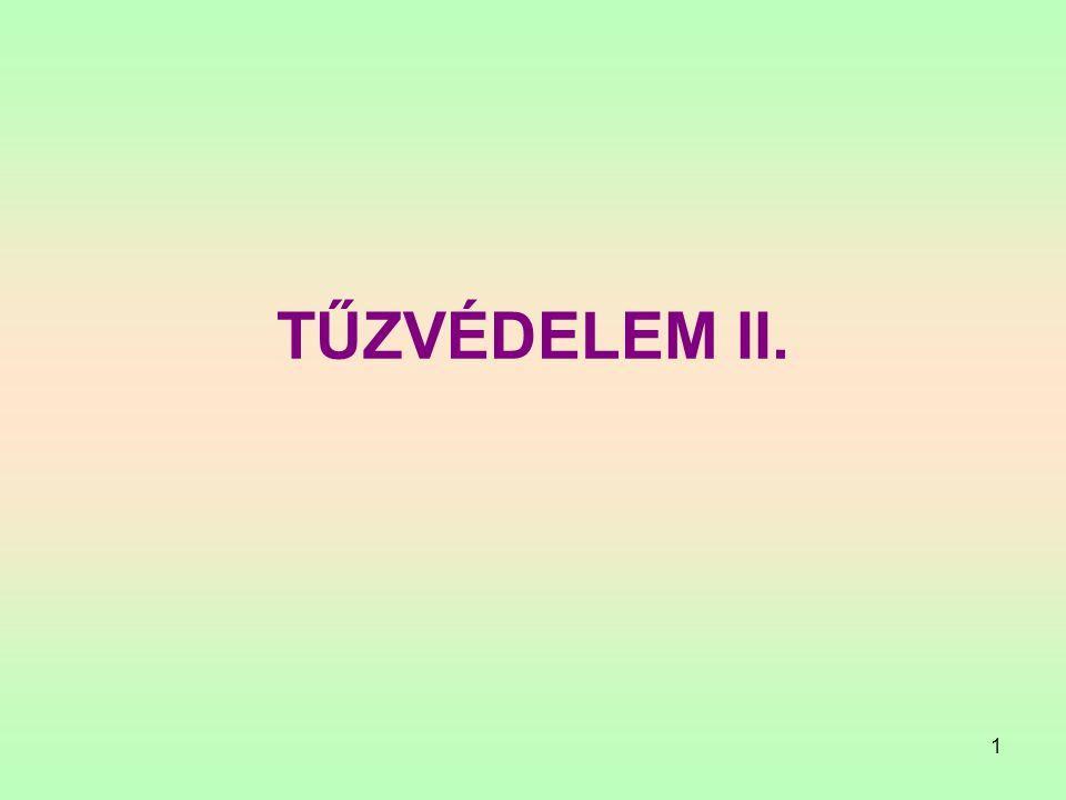1 TŰZVÉDELEM II.