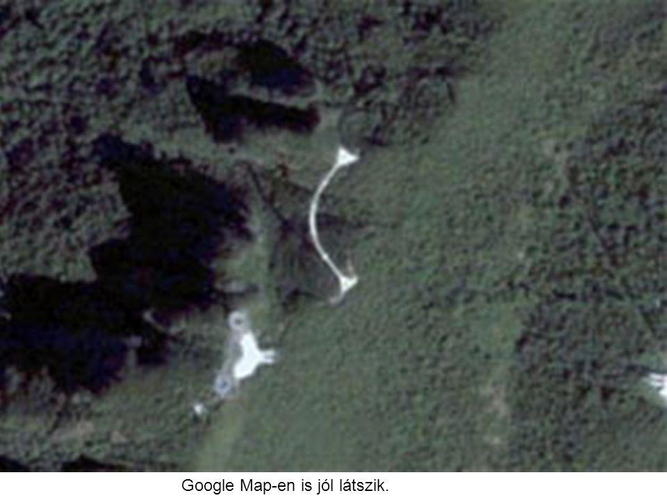 Google Map-en is jól látszik.