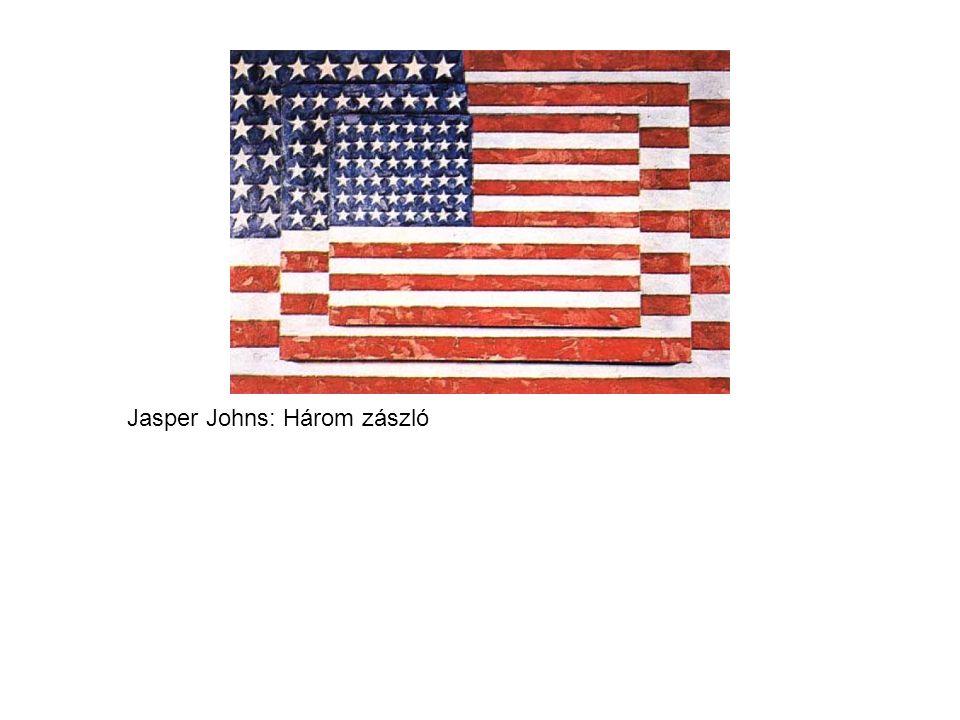 Jasper Johns: Három zászló