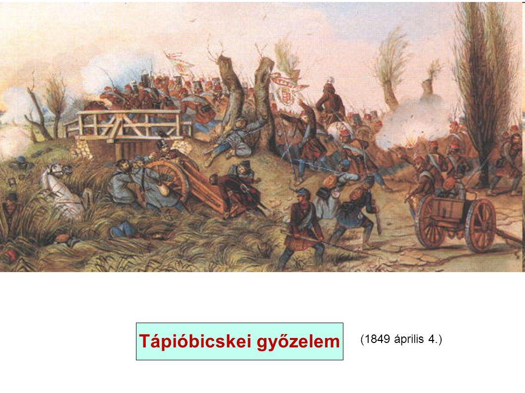 (1849 április 4.) Tápióbicskei győzelem