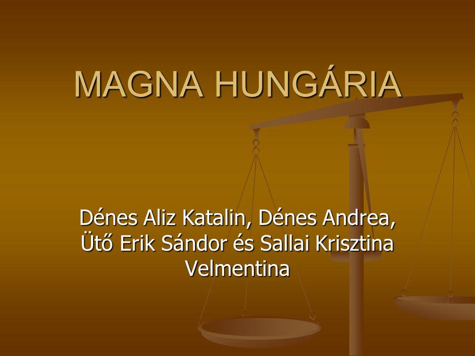 MAGNA HUNGÁRIA Dénes Aliz Katalin, Dénes Andrea, Ütő Erik Sándor és Sallai Krisztina Velmentina