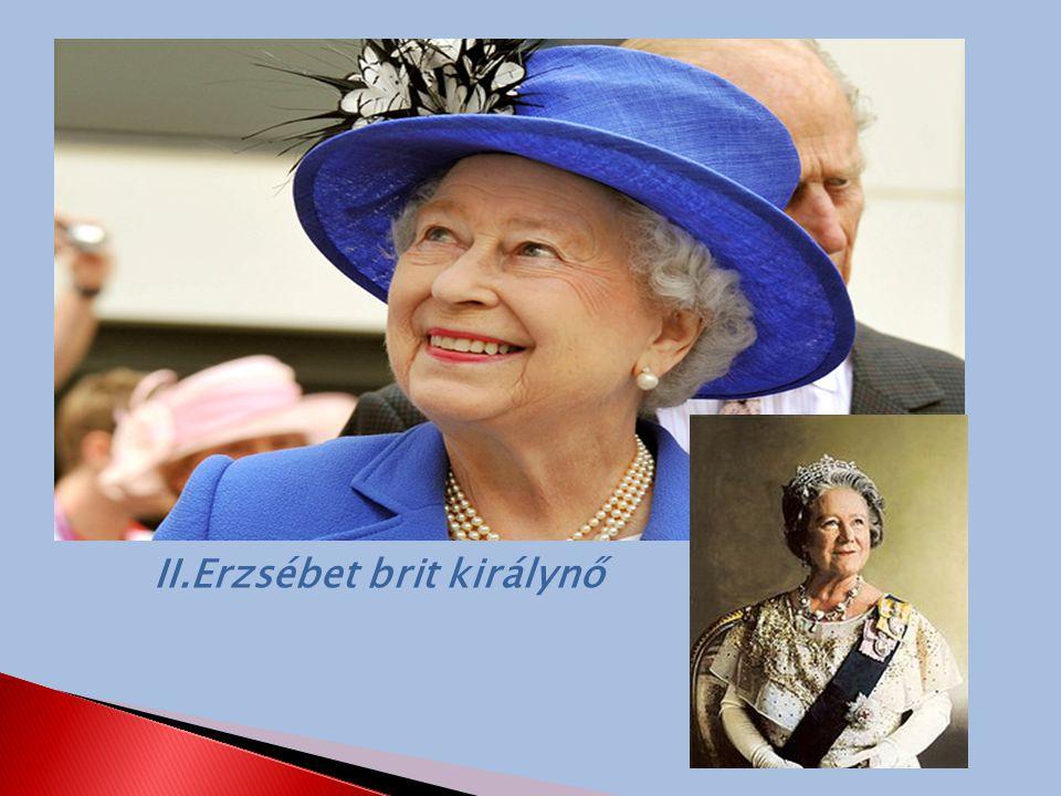 II.Erzsébet brit királynő