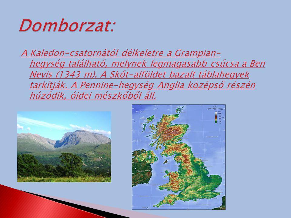 A Brit-szigeteken a bőséges csapadék hatására sűrű vízhálózat alakult ki.Azonban a folyók rövidek pl.: a Shannon, a Severn vagy a Temze.