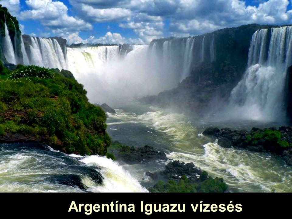 Argentína Iguazu vízesés