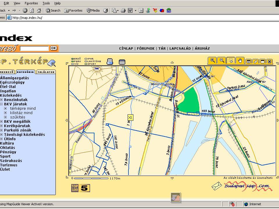 www.web.de –www.map24.dewww.map24.de –Teleinfo –Falk –ViaMichelin Konszernek lapjai –Opel –Aral –Volkswagen Reiseplanung.de