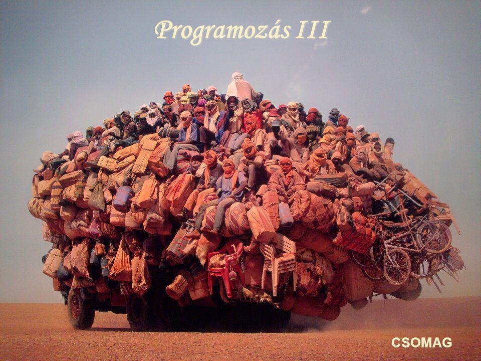 Programozás III CSOMAG