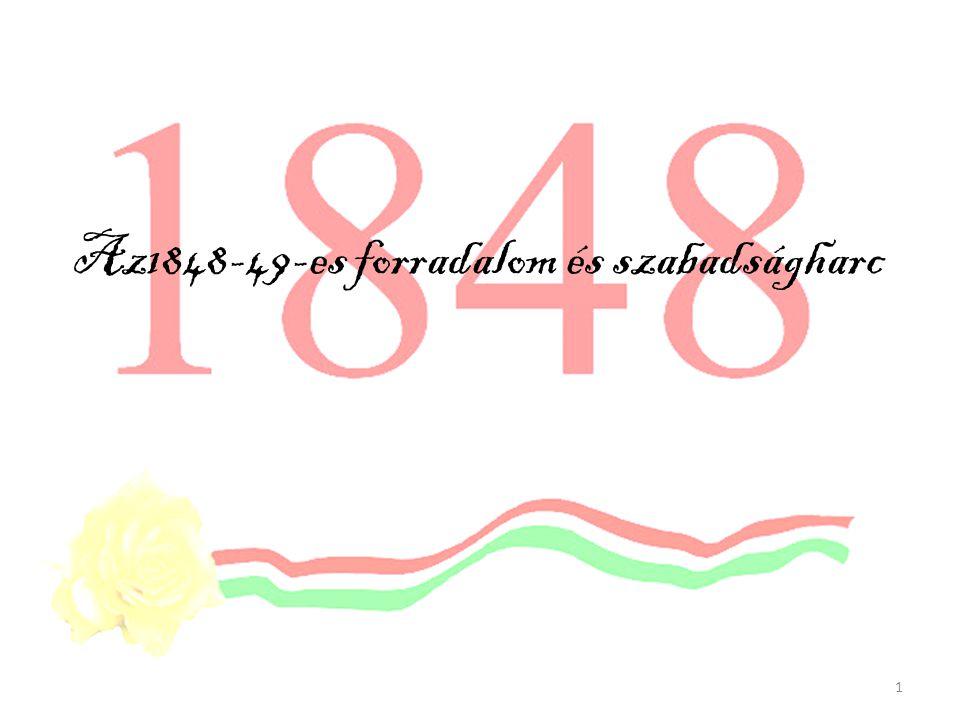 Az1848-49-es forradalom és szabadságharc 1
