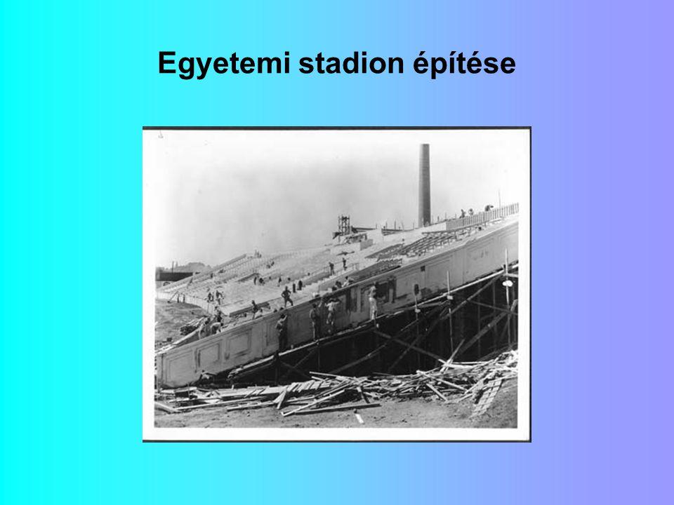 Egyetemi stadion építése