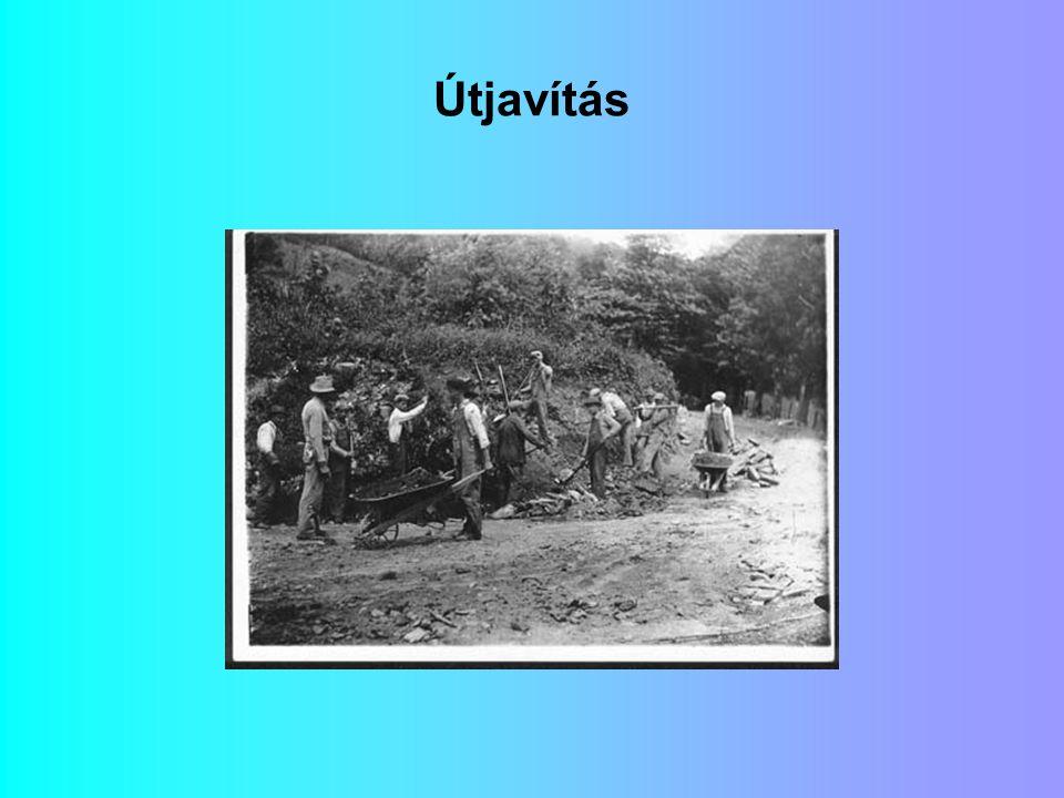 A képek forrása: Észak-Karolina Állam Archívuma http://www.ah.dcr.state.nc.us/archives/ex hibits/wpa/index.htm http://www.ah.dcr.state.nc.us/archives/ex hibits/wpa/index.htm