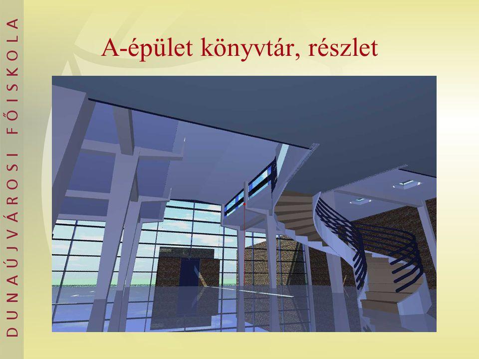 A-épület könyvtár, részlet