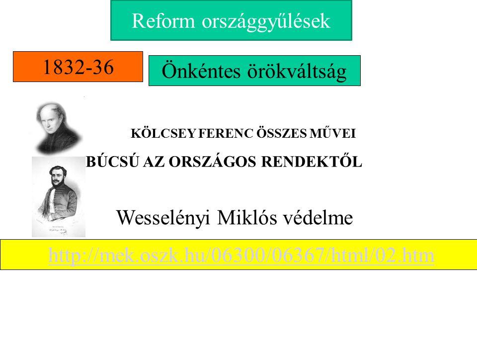 Nemzeti egység megteremtését Liberalizmus Ellenzéki nemesség eszmevilágaban Nemzeti Magyar államnyelvet törekvésekkel kapcsolódott össze Magyar országgyűlésnek felelős nemzeti kormányt