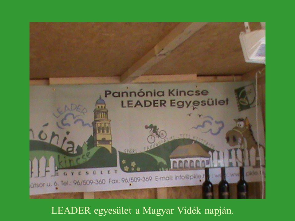 LEADER egyesület a Magyar Vidék napján.