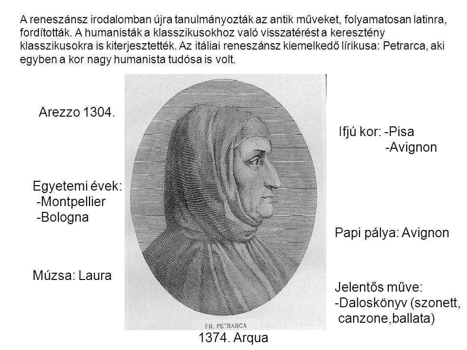 A reneszánsz irodalomban újra tanulmányozták az antik műveket, folyamatosan latinra, fordították. A humanisták a klasszikusokhoz való visszatérést a k
