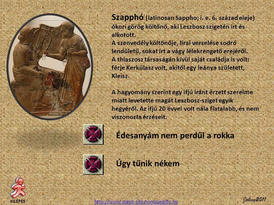 Szapphó (latinosan Sappho; i.e. 6.