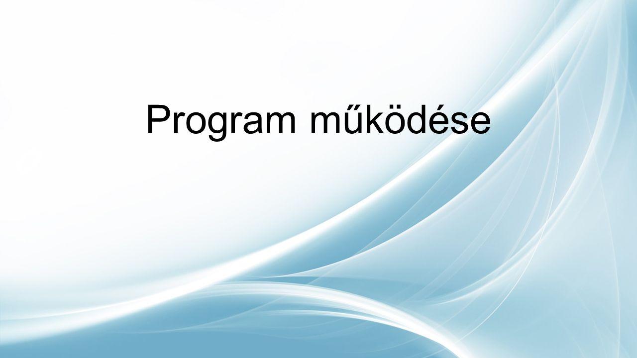 Program működése