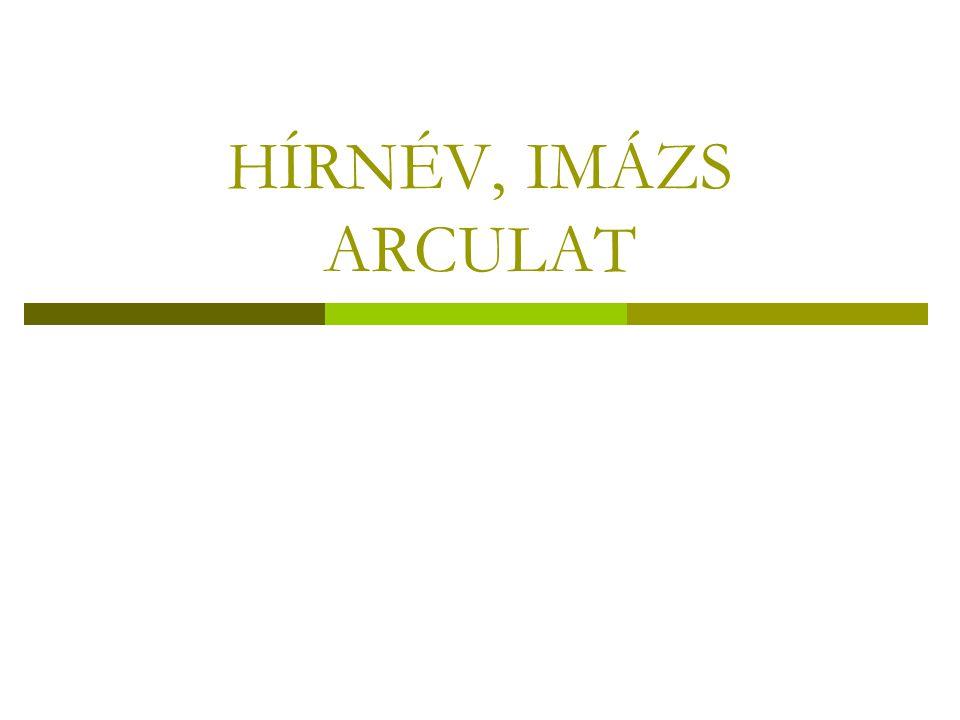 HÍRNÉV, IMÁZS ARCULAT