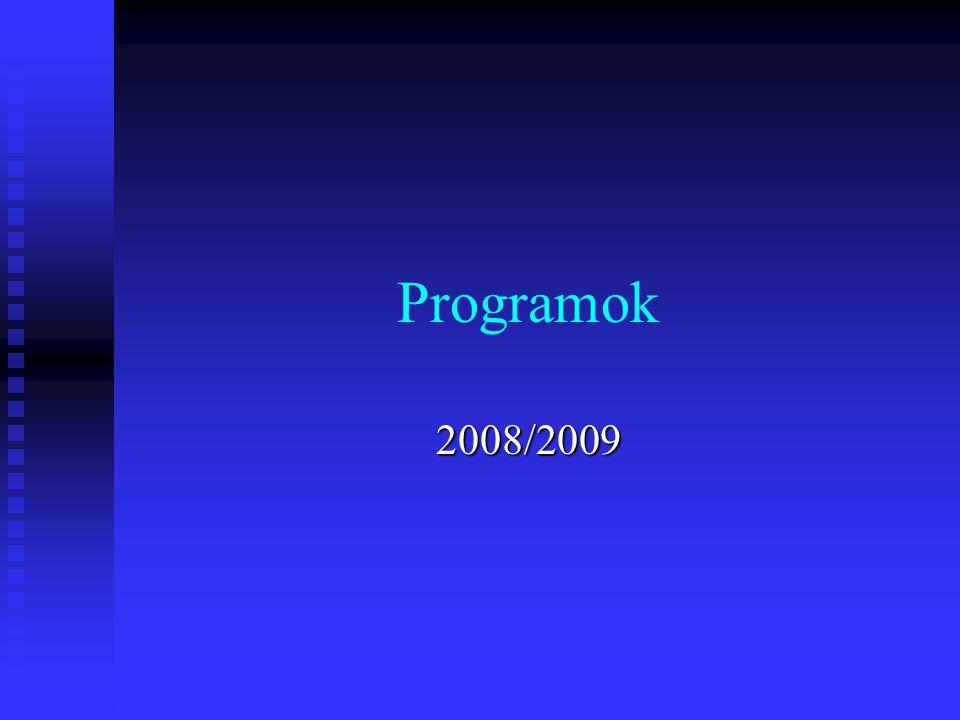 Programok 2008/2009