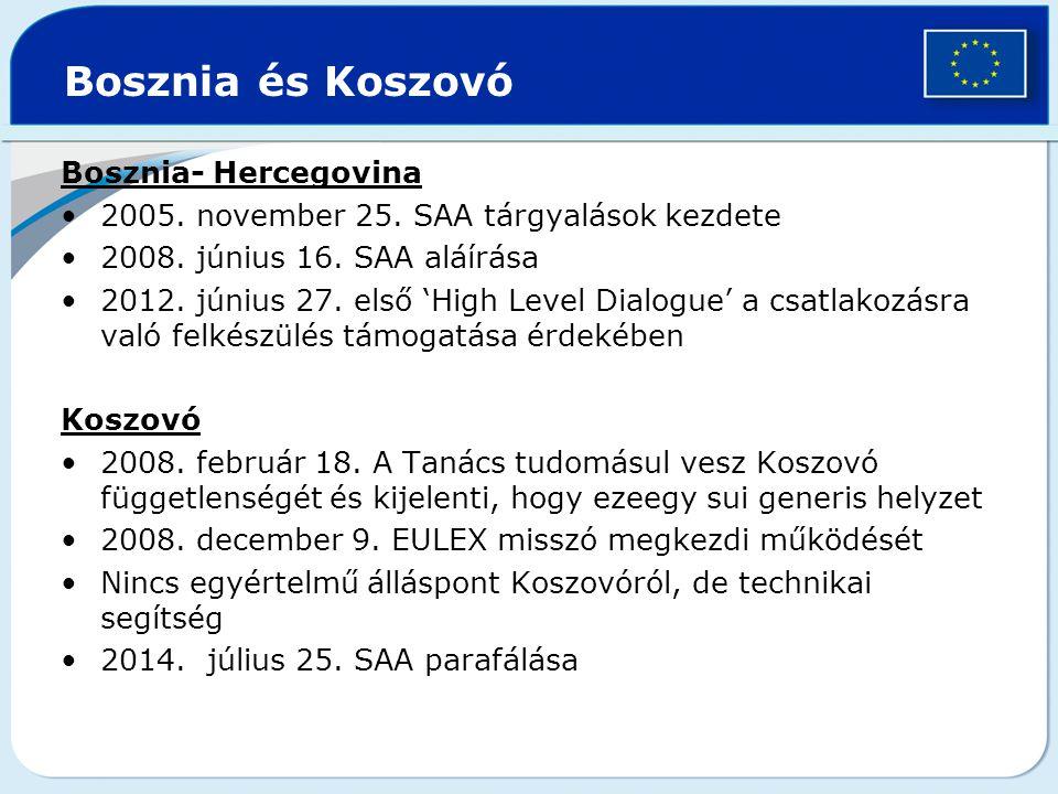 Bosznia és Koszovó Bosznia- Hercegovina 2005.november 25.