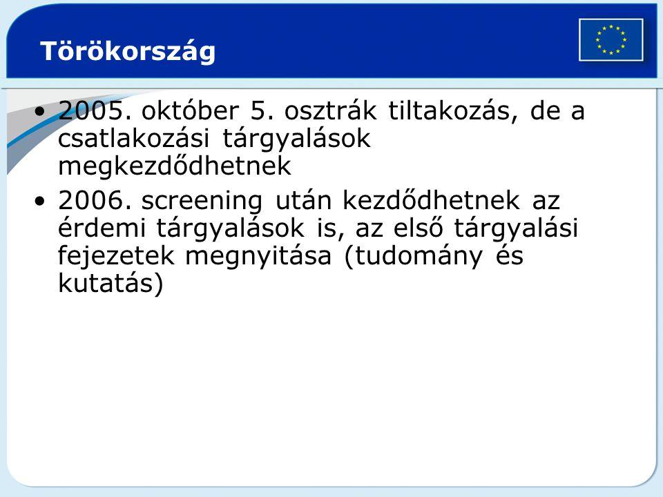 Törökország 2005.október 5.