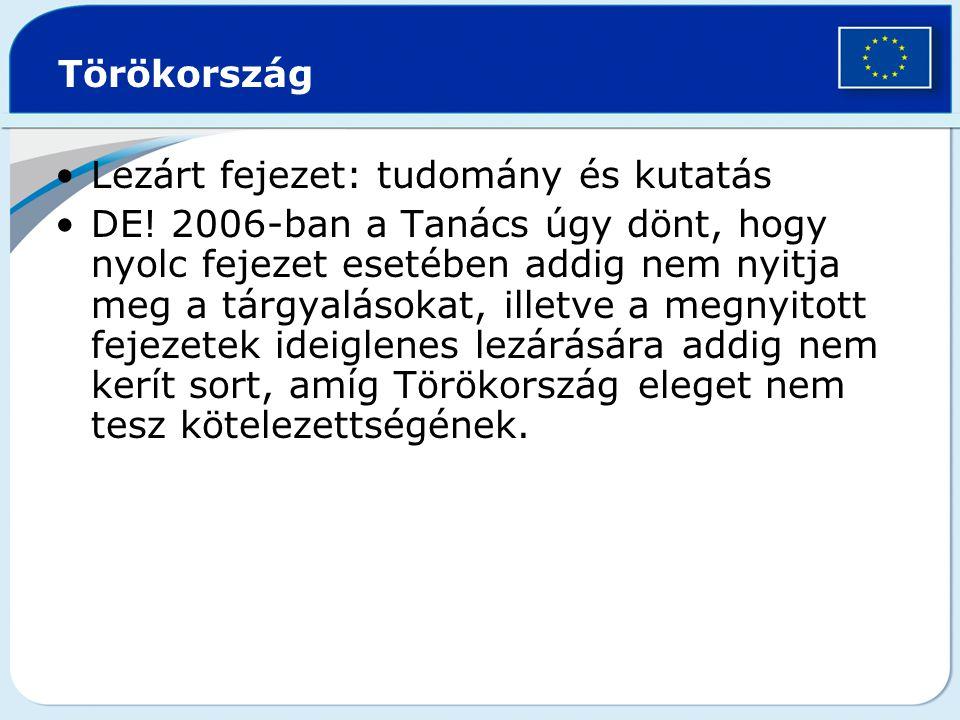 Törökország Lezárt fejezet: tudomány és kutatás DE.